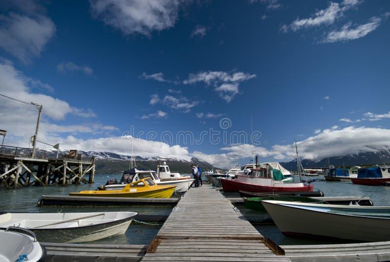 fjord port zdjęcie stock