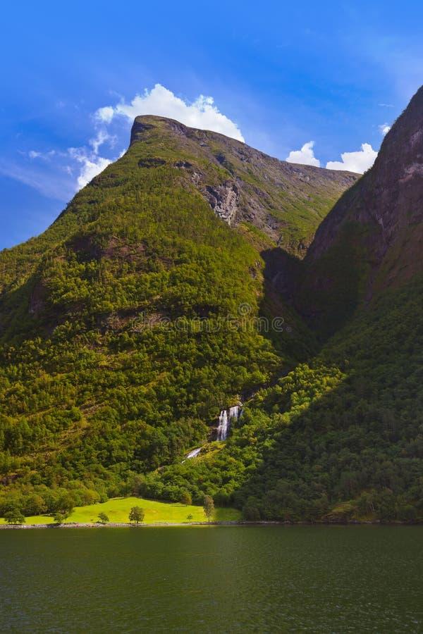 Fjord Sognefjord - Norvège photos stock