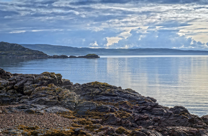 Fjord Torridon royaltyfri bild