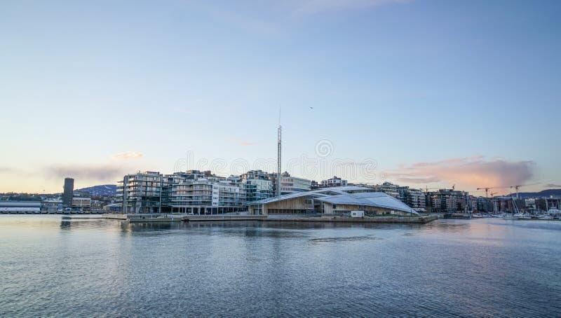 Fjord van Oslo royalty-vrije stock afbeeldingen