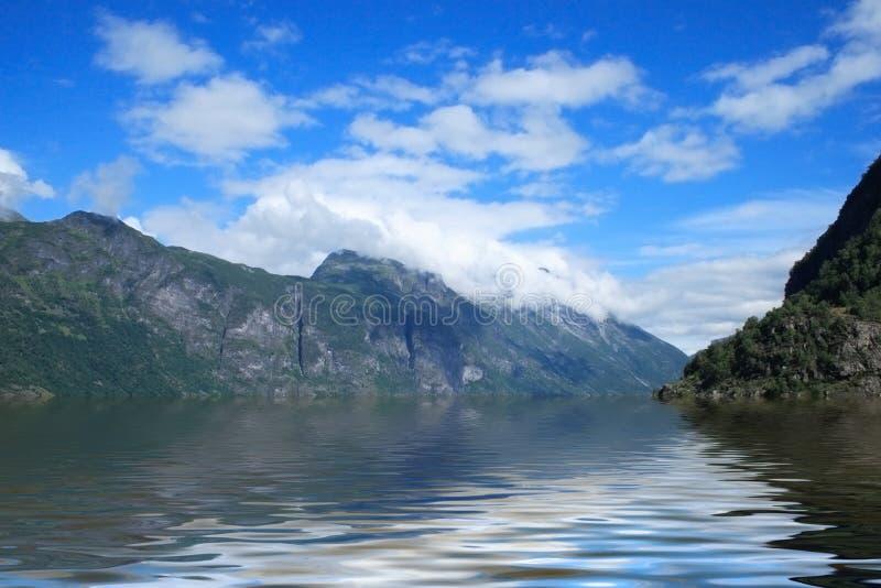 Fjorden van Noorwegen royalty-vrije stock afbeelding