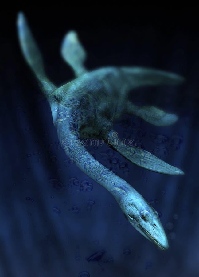 fjordmonsterness vektor illustrationer
