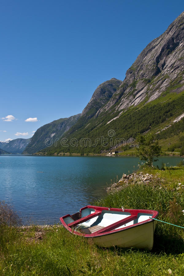 Fjords And Boat Stock Photos