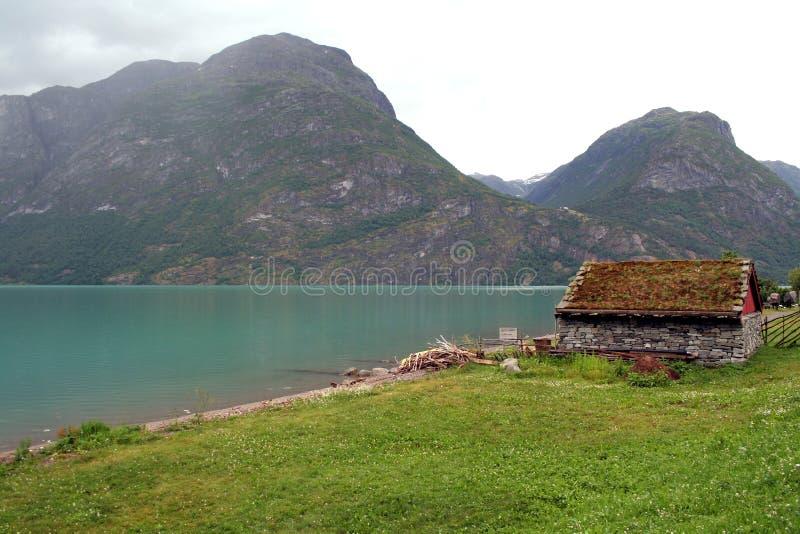 Fjords em Noruega imagem de stock royalty free