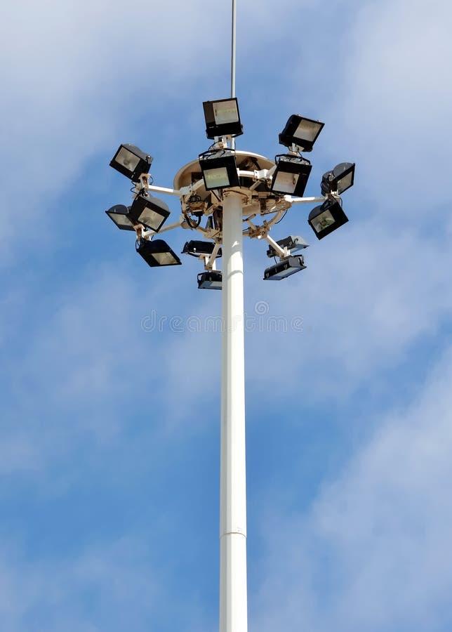 Fläck-ljus torn fotografering för bildbyråer