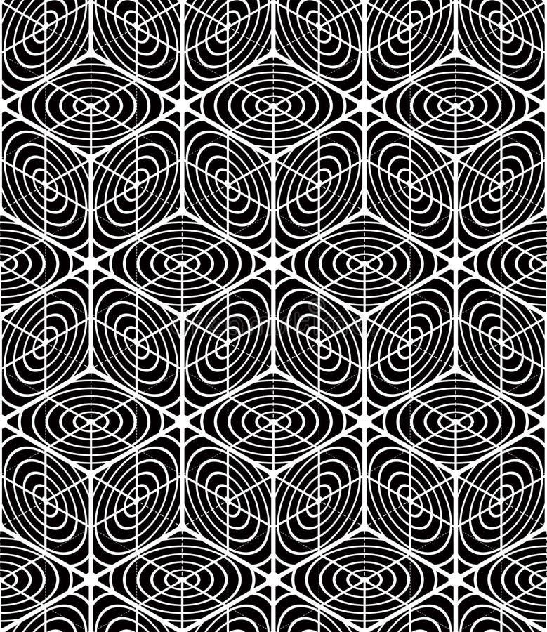 Flätar samman den ändlösa modellen för vanlig kontrast med tre-mått stock illustrationer