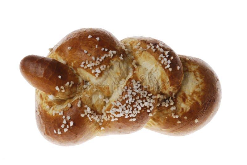 flätat bröd royaltyfria bilder