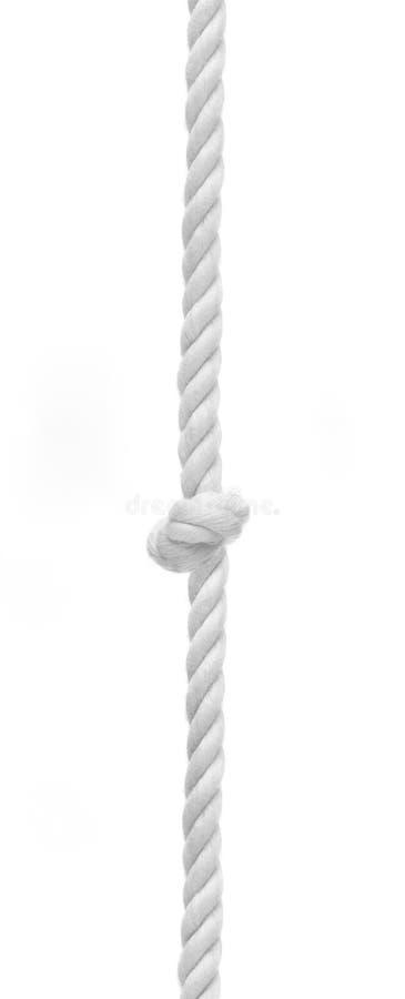 Flätat rep med fnuren i mitt arkivfoton