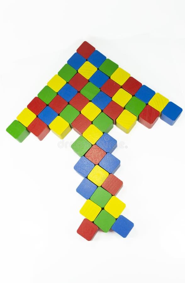 Flèche colorée photo libre de droits