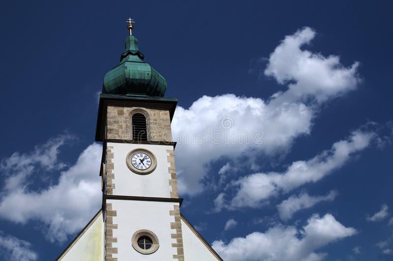Flèche d'église photo libre de droits