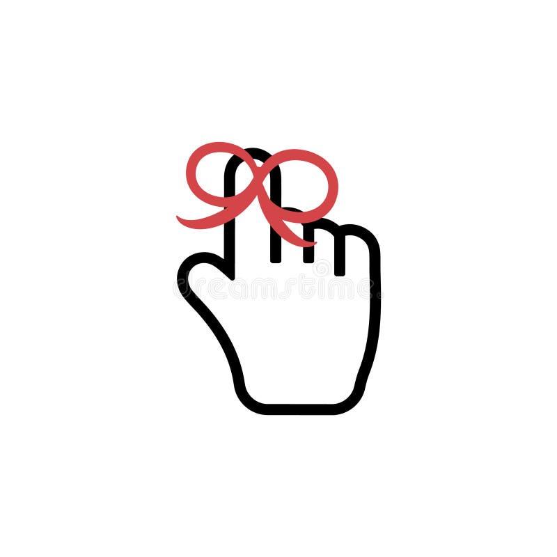 Flèche de main de souris d'icônes de curseurs de pixel Curseur d'ordinateur de souris han illustration de vecteur