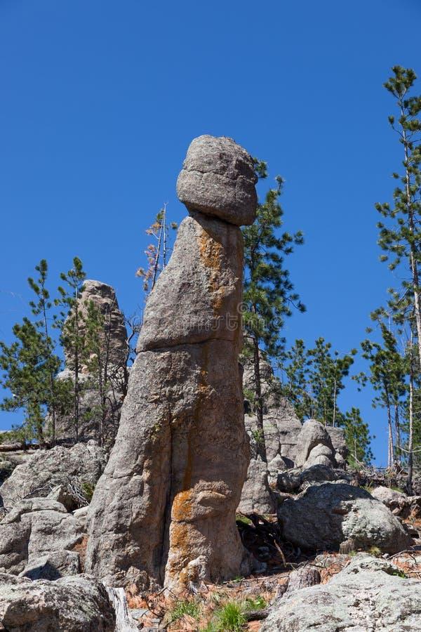 Flèche de roche de quartz image stock
