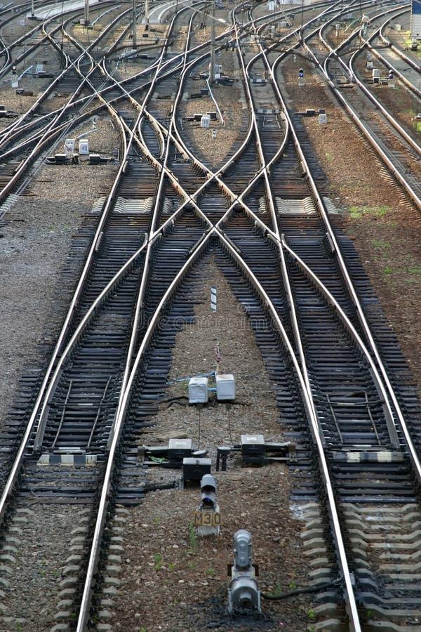 Flèche ferroviaire photos libres de droits
