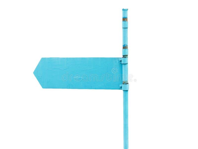 Flèche indicatrice bleue photos libres de droits