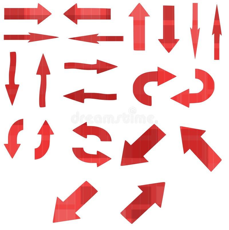 Flèches illustration stock
