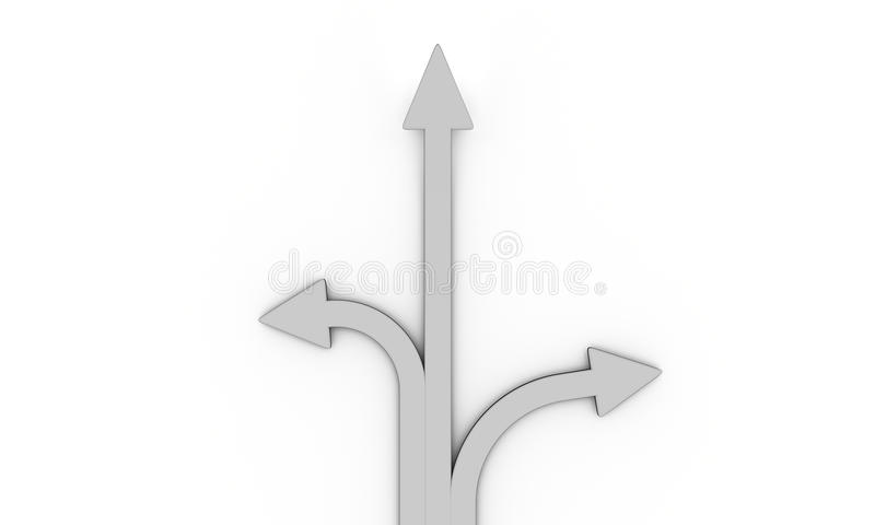 Download Flèches illustration stock. Illustration du affaires - 45362867