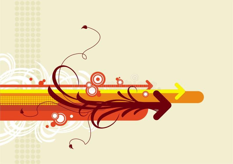 Flèches de vecteur illustration stock