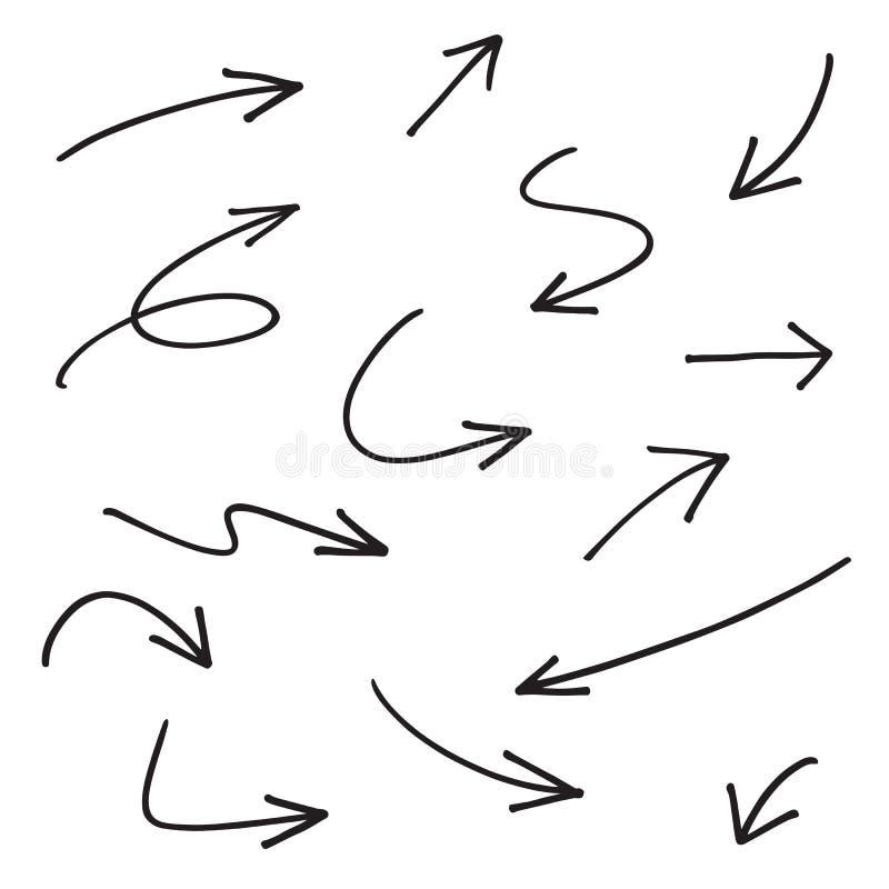 Flèches de vecteur illustration libre de droits