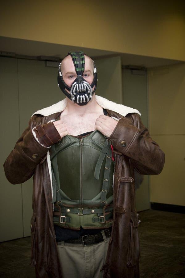 Fléau à la convention de Baltimore Comicon photo stock
