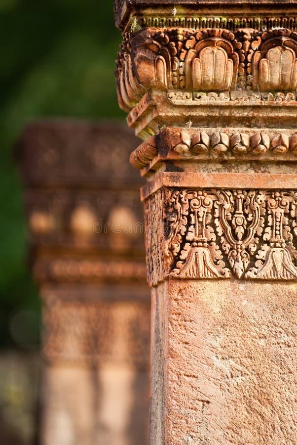 Fléau antique dans Banteay Srey images stock