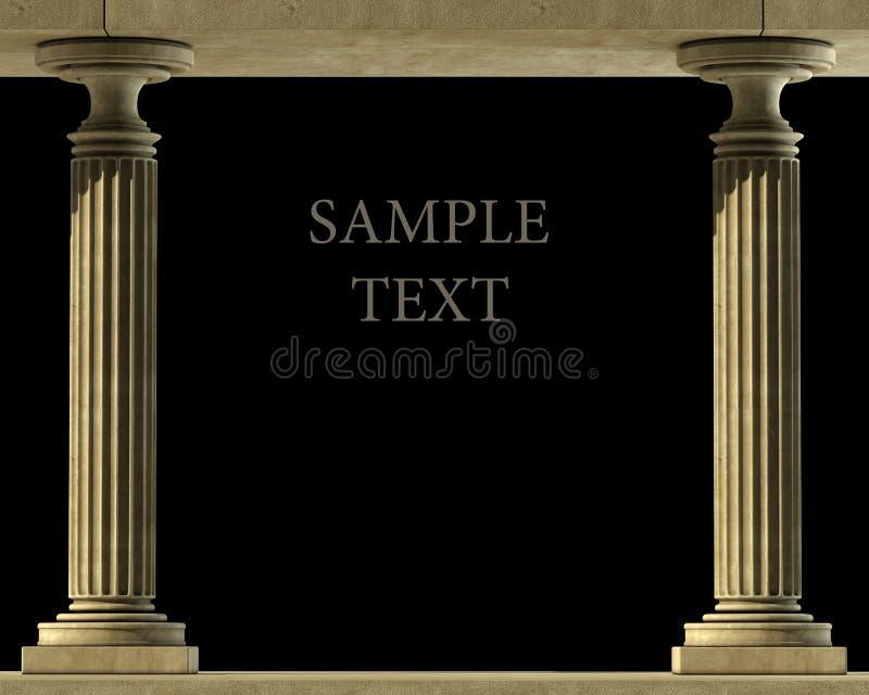 Fléau de marbre classique images libres de droits