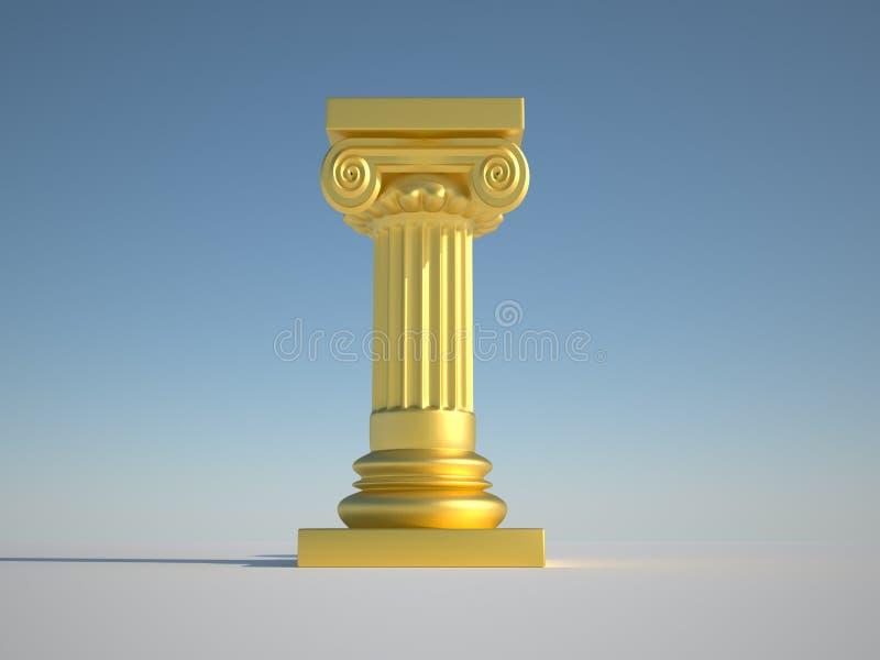 Fléau de pilier illustration de vecteur