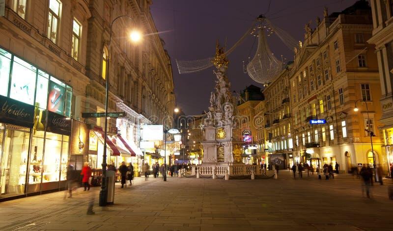 Fléau de trinité à Vienne, Autriche photos stock