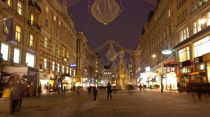Fléau de trinité à Vienne. l'Autriche image stock