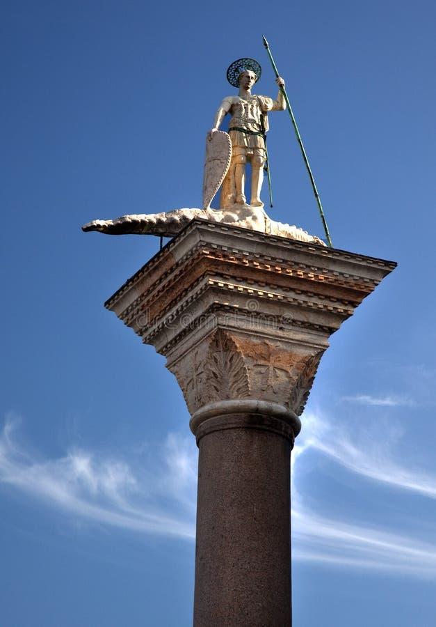 Fléau Venise Italie de Theodore de saint photos libres de droits
