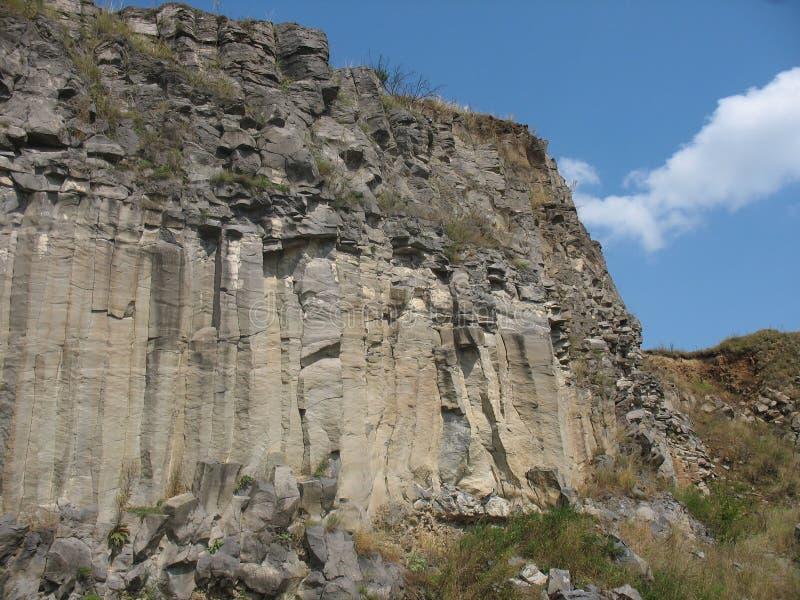 Fléaux basaltiques photographie stock libre de droits