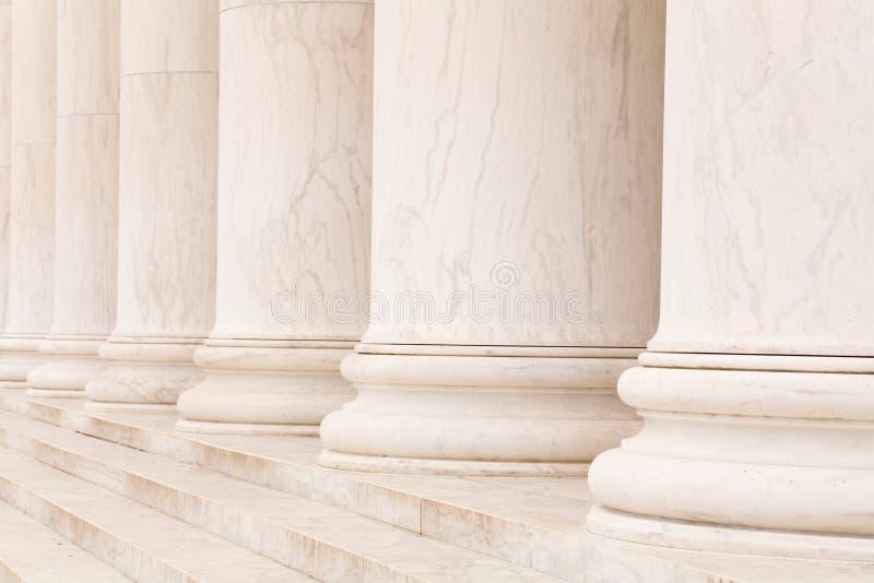 Fléaux de marbre image libre de droits