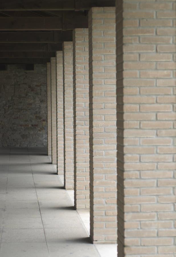 Fléaux des briques image libre de droits