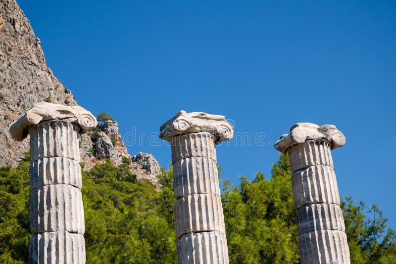 Fléaux grecs images libres de droits