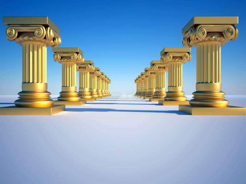 Fléaux romains illustration libre de droits