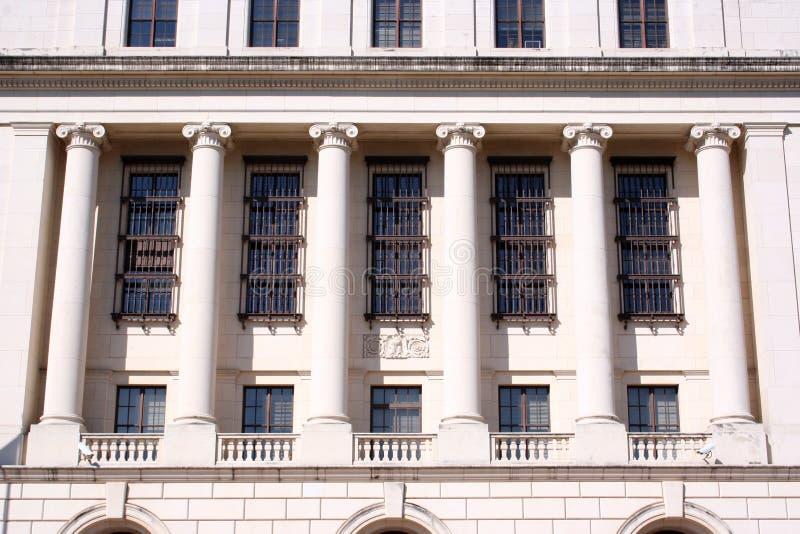 Fléaux sur la construction fédérale image libre de droits