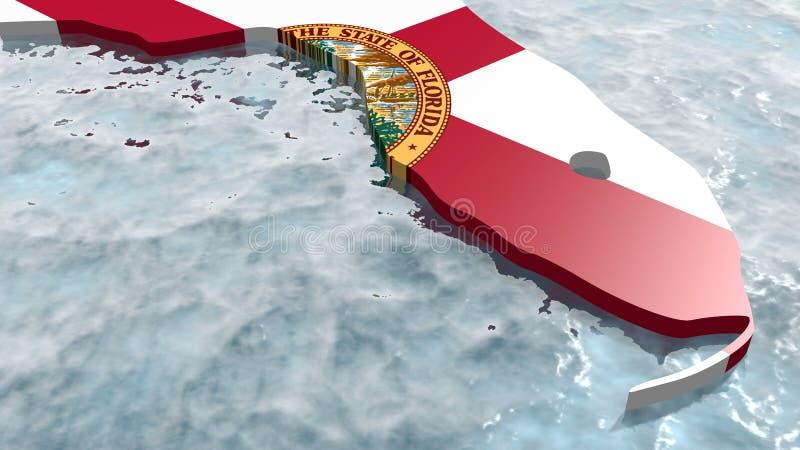 Flórida ilustração do vetor