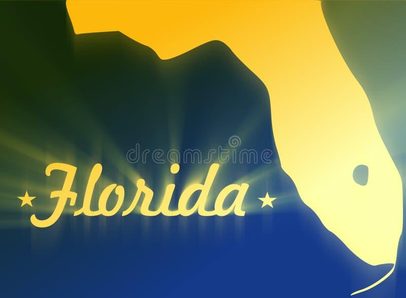 Flórida ilustração stock