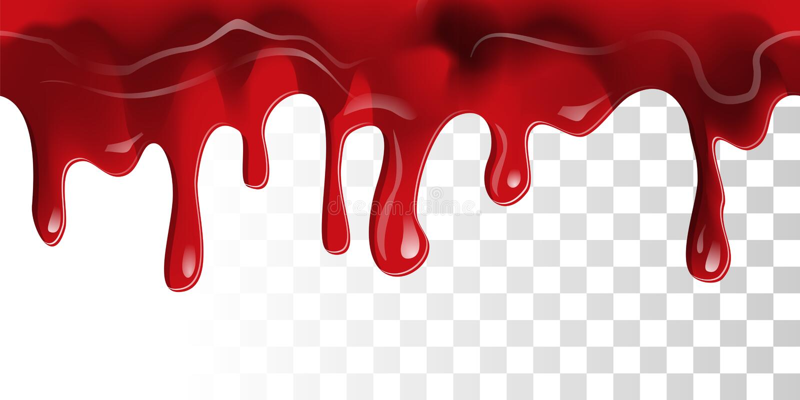 Flödande blodgräns stock illustrationer