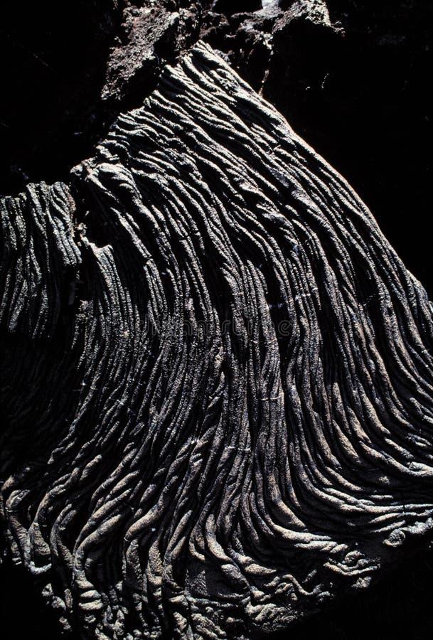 flödeslavapahoehoe arkivfoton