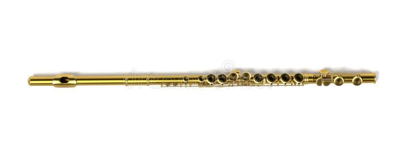 Flöjt (musikinstrument) stock illustrationer