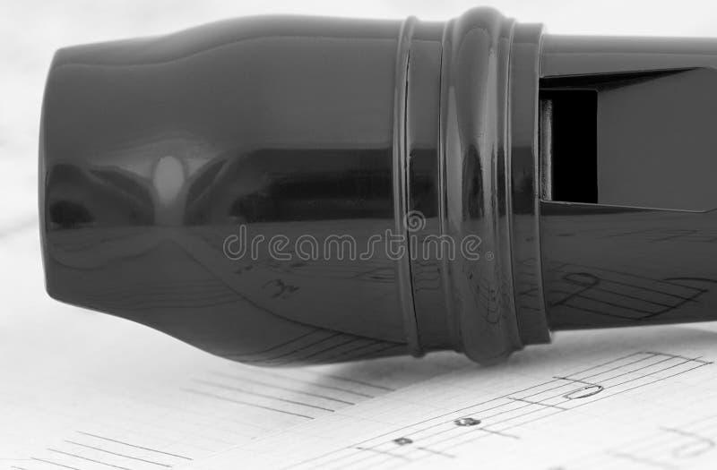 Flöjt och musik fotografering för bildbyråer