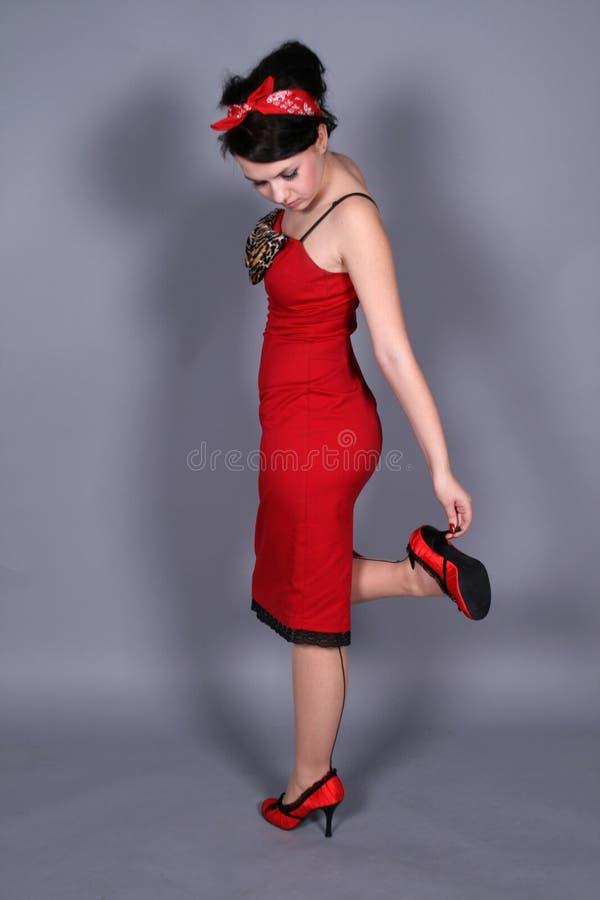 flörta flickautvikningsbrud fotografering för bildbyråer