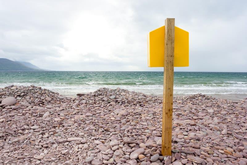 Flöte framme av havet fotografering för bildbyråer