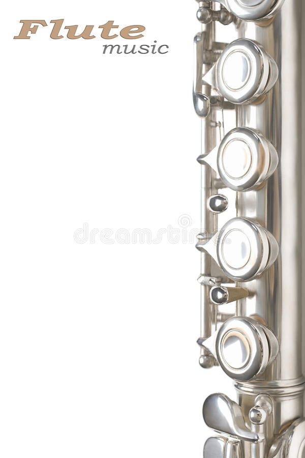 Flötemusik-Hintergrunddetails lizenzfreie stockfotografie