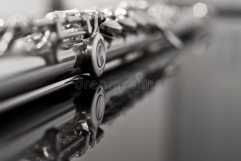 Flötenfragment stockfoto
