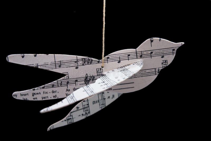 Flügel von Musik lizenzfreie stockfotografie