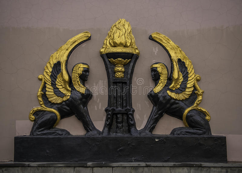Flügel Voronezh - Russlands stockfotos