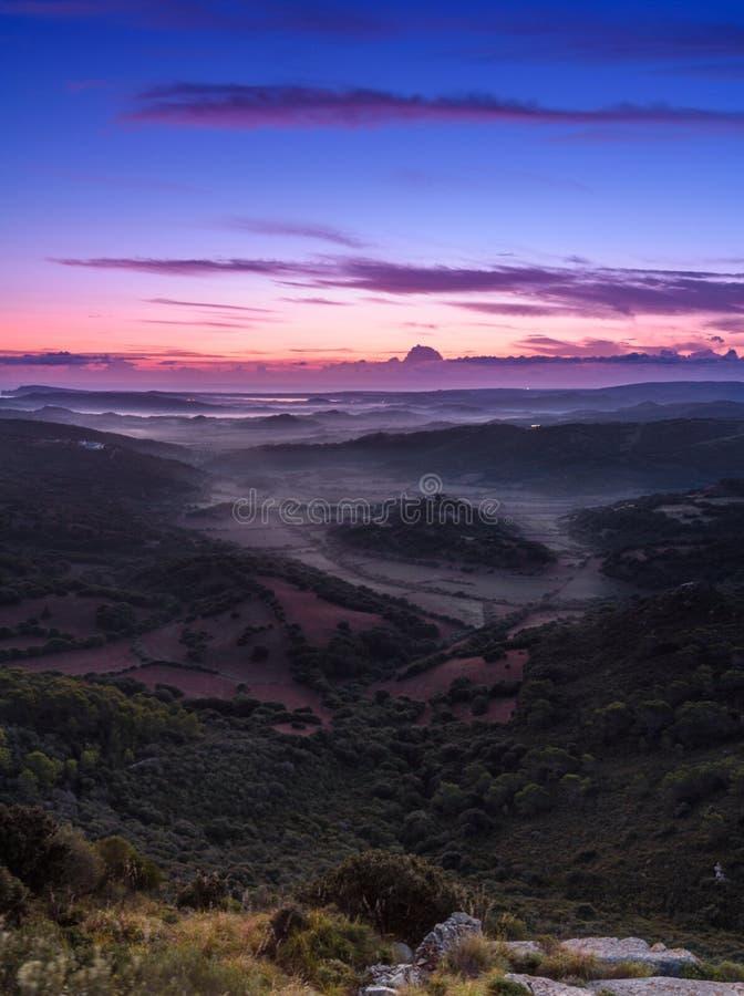 Flüsse von Nebel 2 lizenzfreie stockbilder