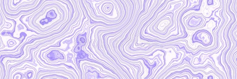Flüssige abstrakte flüssige Kunstillustration Acrylfarbe auf Segeltuch vektor abbildung