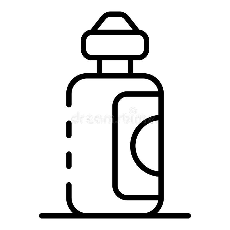 Flüssige Ikone der Fruchtzigarette, Entwurfsart vektor abbildung
